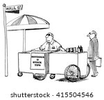 Business Cartoon About Stock...