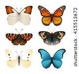 Butterflies Vector Set....