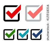 vector of check mark icon. for...
