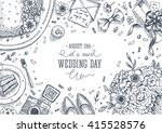 wedding party background.... | Shutterstock .eps vector #415528576
