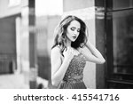 close up portrait of... | Shutterstock . vector #415541716