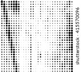 halftone dotted grunge texture . | Shutterstock . vector #415570096
