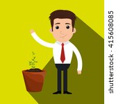 funding concept design    Shutterstock .eps vector #415608085