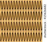 cane wicker woven fiber... | Shutterstock .eps vector #415626682