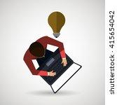 business people  design  | Shutterstock .eps vector #415654042