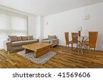 modern furnished living room... | Shutterstock . vector #41569606