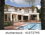 luxury trophy home in the... | Shutterstock . vector #41572795