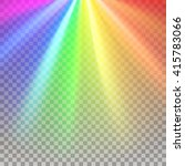 Rainbow Rays. Color Spectrum...