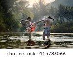 muay thai | Shutterstock . vector #415786066