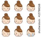 character of cute comic style | Shutterstock . vector #415788268