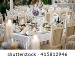 wedding decorations | Shutterstock . vector #415812946