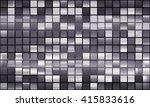 bright abstract mosaic grey... | Shutterstock . vector #415833616
