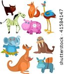 animal set | Shutterstock .eps vector #41584147