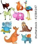 animal set   Shutterstock .eps vector #41584147