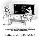 education cartoon about... | Shutterstock . vector #415854376