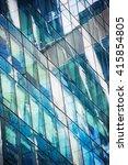 windows of modern office... | Shutterstock . vector #415854805