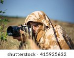 a professional nature wildlife... | Shutterstock . vector #415925632