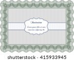 vintage invitation template.... | Shutterstock .eps vector #415933945
