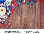 american independence day ... | Shutterstock . vector #415949602