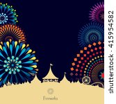 vector illustration of... | Shutterstock .eps vector #415954582