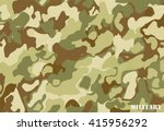 camouflage military background... | Shutterstock .eps vector #415956292
