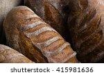 closeup of artisan french... | Shutterstock . vector #415981636
