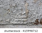 Old Worn Metal Surface With...
