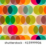 transparent circles abstract... | Shutterstock .eps vector #415999906