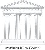 clip art illustration of a... | Shutterstock . vector #41600044