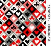 seamless background pattern.... | Shutterstock .eps vector #416018752
