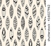 vector seamless pattern with... | Shutterstock .eps vector #416027962