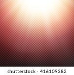 sunlight or burst vector... | Shutterstock .eps vector #416109382