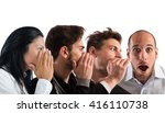 word of mouth   Shutterstock . vector #416110738