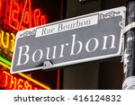 Street Sign Of New Orleans Mos...