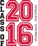 class of 2016 college | Shutterstock .eps vector #416129662