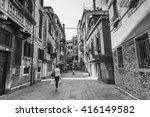 venice  italy   june 26  2014 ... | Shutterstock . vector #416149582
