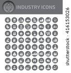 industry construction energy... | Shutterstock .eps vector #416153026