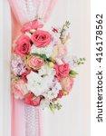 flower ornaments  | Shutterstock . vector #416178562