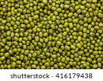 Green Beans  Organic  Closeup...
