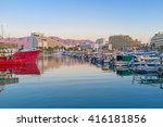 The Water Surface In Marina An...