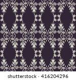 elegant  classic floral pattern ... | Shutterstock .eps vector #416204296