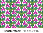 bright  colourful cheerful... | Shutterstock .eps vector #416210446