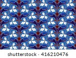 cute  quiet  soft  pattern. on... | Shutterstock .eps vector #416210476