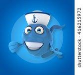 fun fish | Shutterstock . vector #416215972
