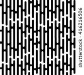 seamless rain irregular lines...   Shutterstock .eps vector #416216506