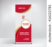 banner design background ... | Shutterstock .eps vector #416222782
