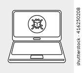security system design  | Shutterstock .eps vector #416250208