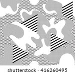 camouflage background seamless... | Shutterstock .eps vector #416260495