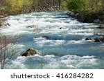 Image Of Flowing Water In The...