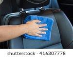 Hand With Microfiber Cloth...